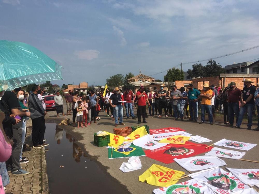 Ir para Sutraf Alto Uruguai participa de dois atos de 7 de Setembro