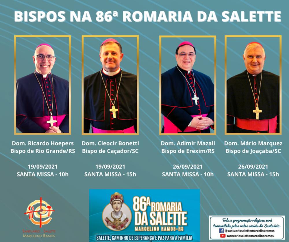 ROMARIA DA SALETTE EM MARCELINO RAMOS/RS
